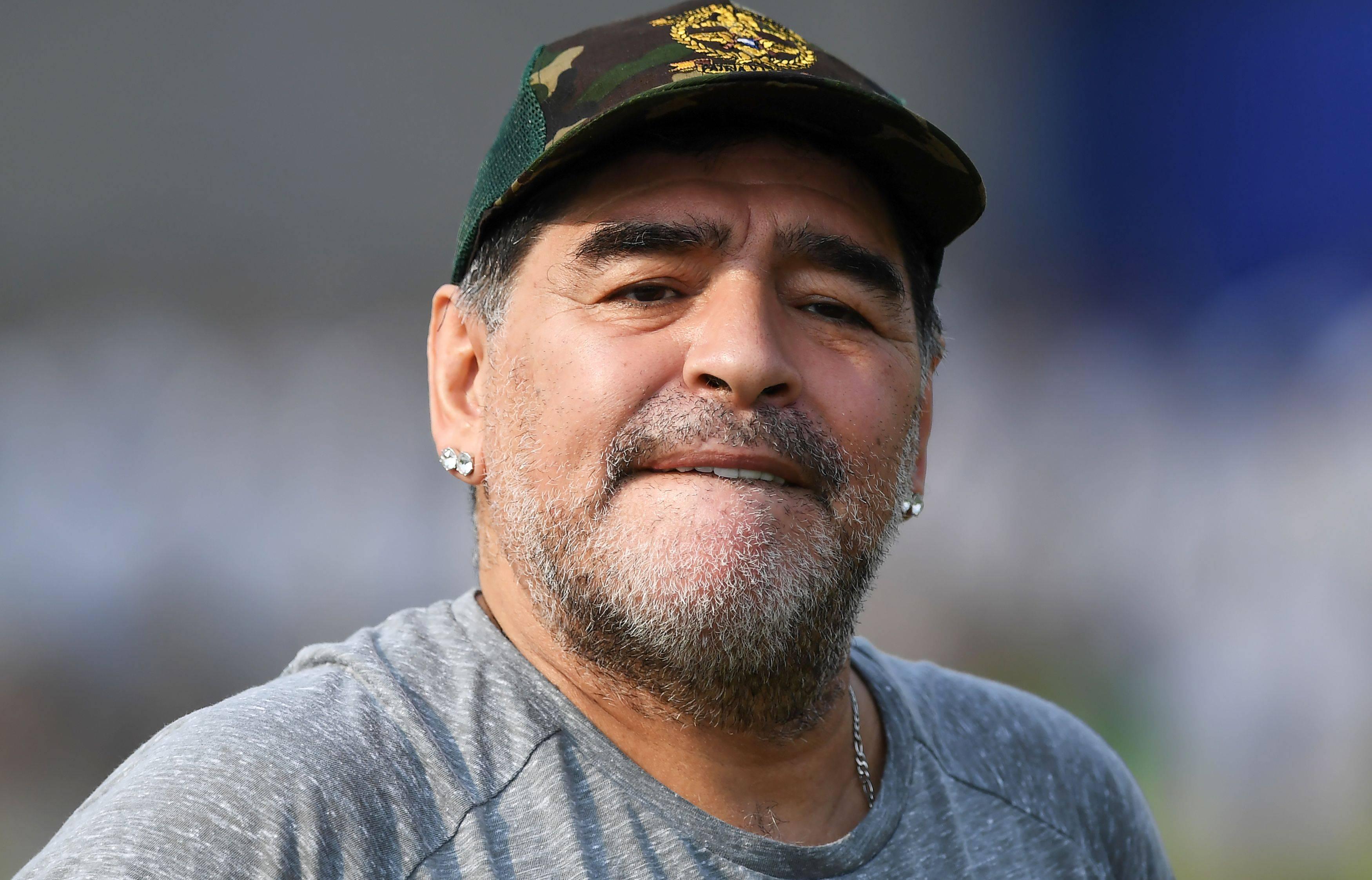 Maradona non andrà al matrimonio della figlia Dalma - il ...
